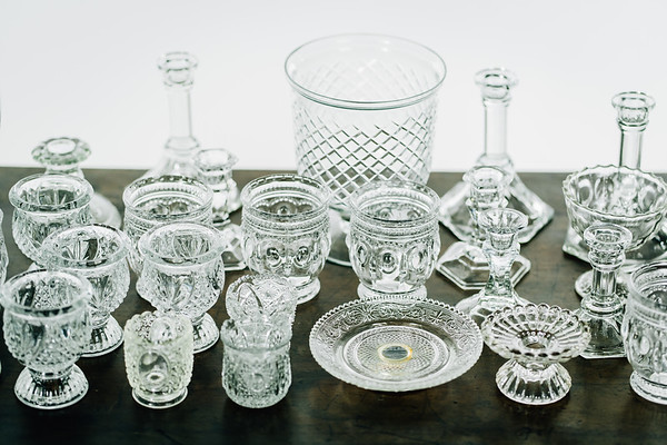 Crystal and Cut Glass Details